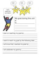 Goal setting superstar