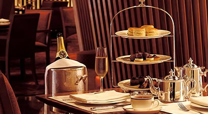 The Lobby. International Dining & Afternoon Tea in The Peninsula Tokyo