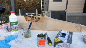 How to do the Finishing work on a wooden fuselage