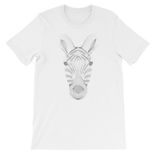 Tshirt zebre resonance - EOLE PARIS