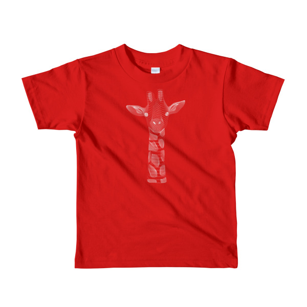 T-shirt | Girafe |Résonance |Enfant
