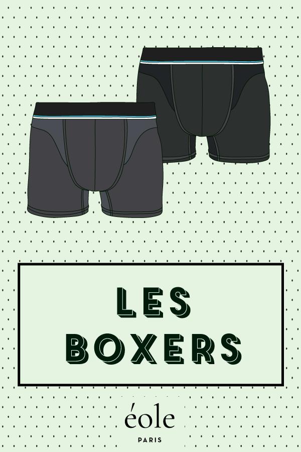 Les Boxers - EOLE PARIS