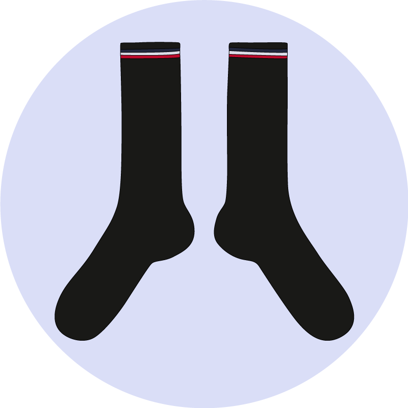 Les tailles de chaussettes - EOLE PARIS