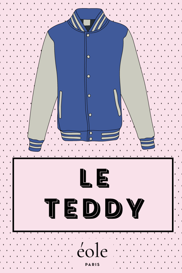 Le teddy - EOLE PARIS