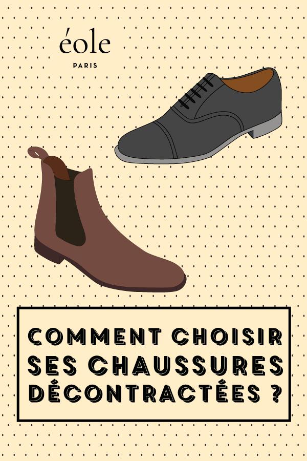 Comment choisir et porter ses chaussures décontractées ? EOLE PARIS