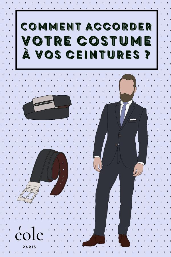 Comment accorder votre costume à votre ceinture ? EOLE PARIS P