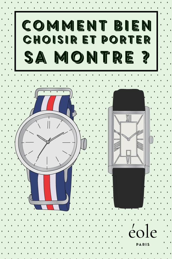 Comment bien choisir et porter ses montres ? EOLE PARIS P