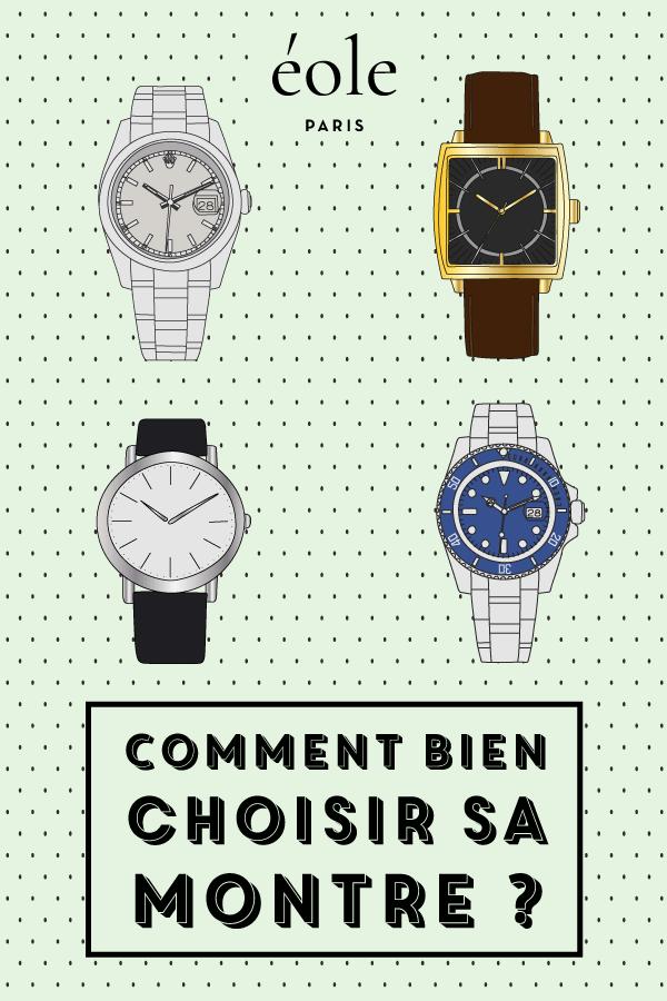 Comment bien choisir sa montre ? EOLE PARIS P