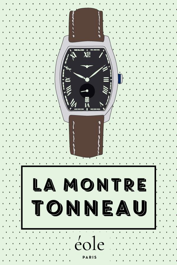 Montre tonneau - EOLE PARIS
