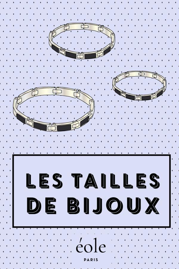 Les tailles de bijoux - EOLE PARIS P