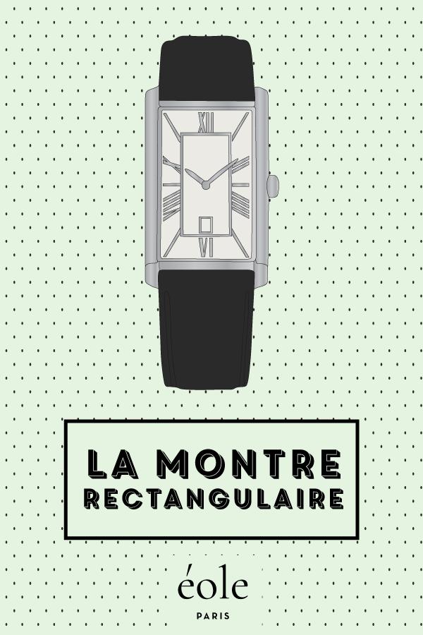 La montre rectangulaire - EOLE PARIS P