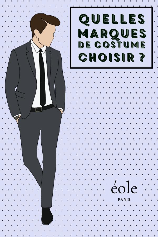 Quelles marques de costume choisir ? EOLE PARIS