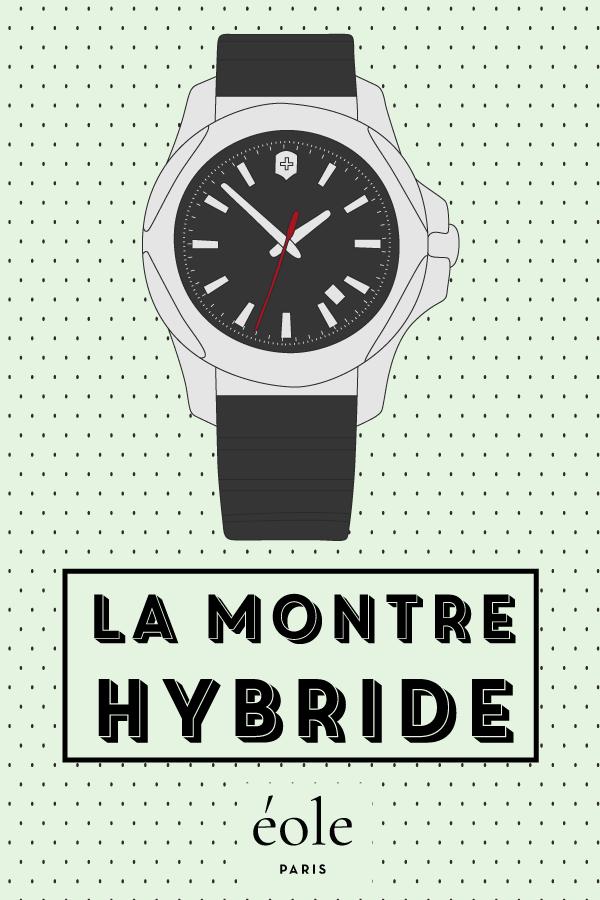 La montre hybride - EOLE PARIS P