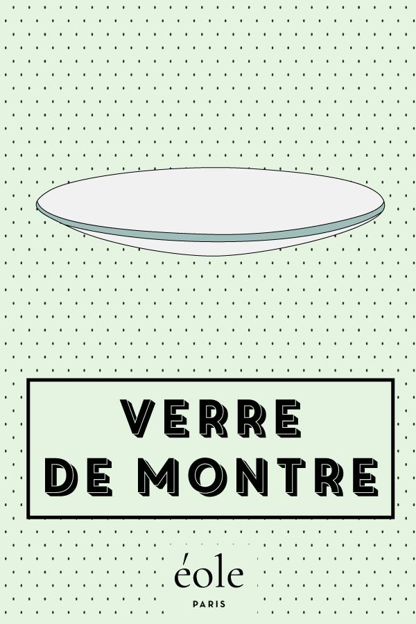 Verre de montre - EOLE PARIS P