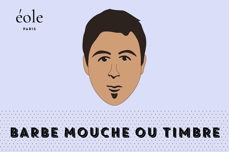 Barbe Mouche ou Timbre - ÉOLE PARIS