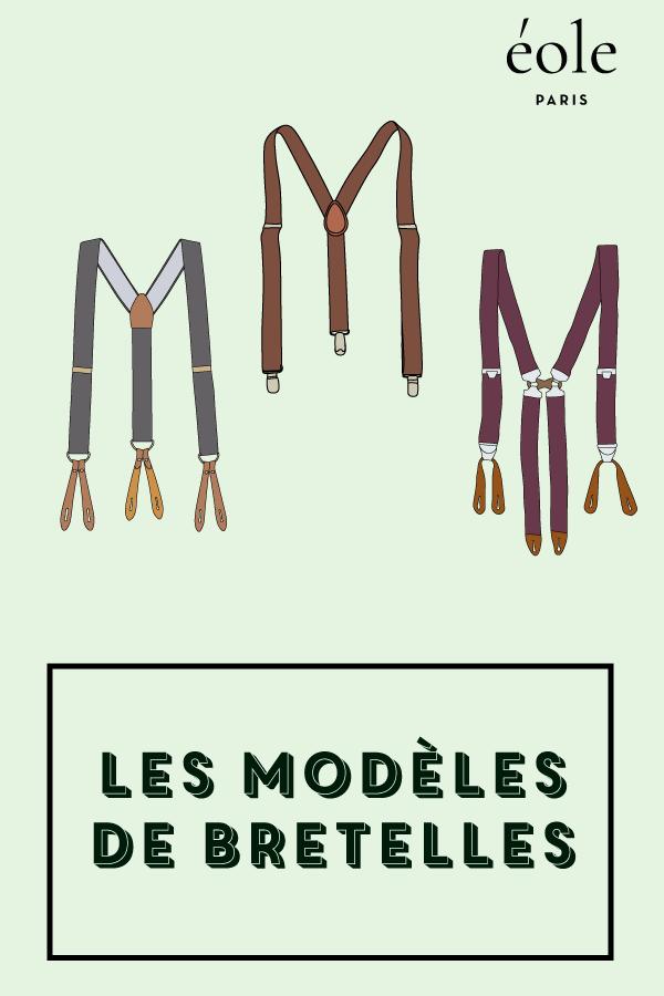Les modeles de bretelles - EOLE PARIS
