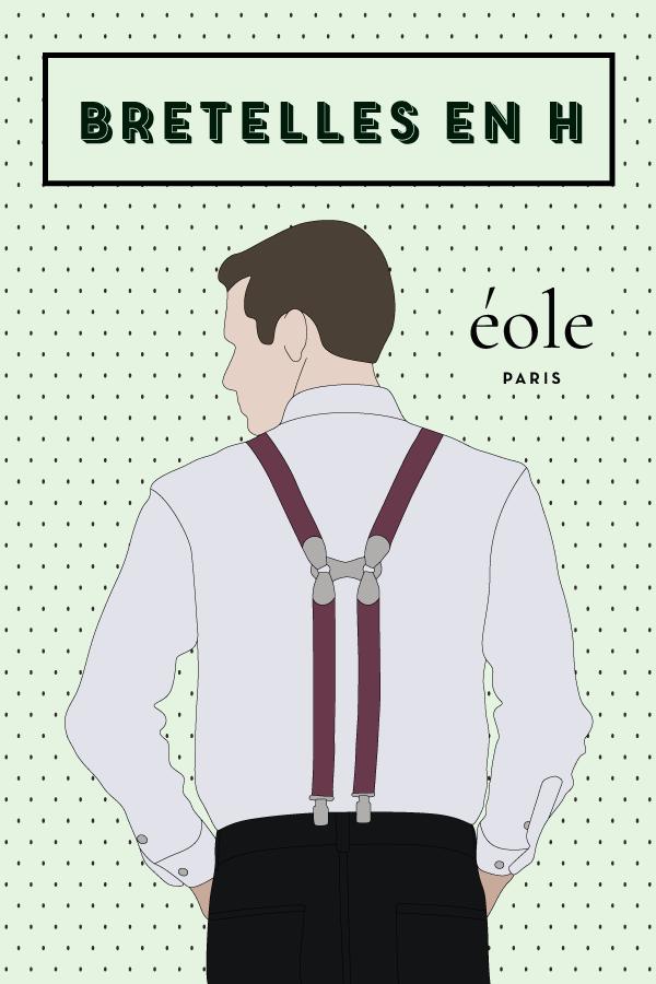 Les bretelles en H - EOLE PARIS