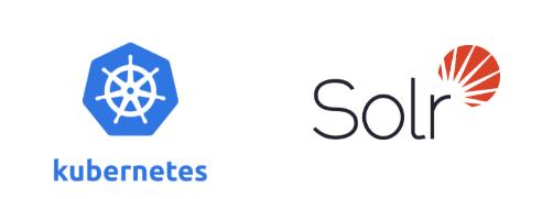 Logo Kubernetes Solr
