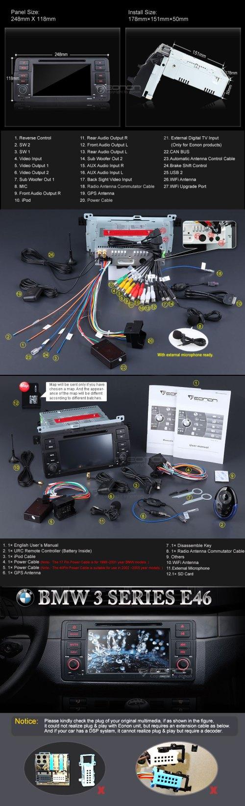 small resolution of eonon gm5150 e46fanatics eonon d5150 wiring diagram