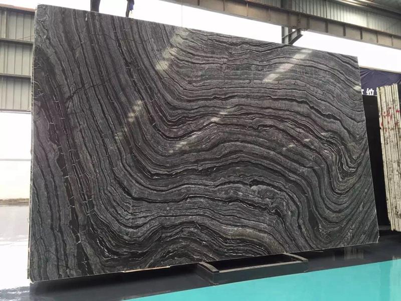 black wooden marble countertops tiles