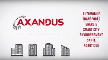 Vidéo motion design Axandus