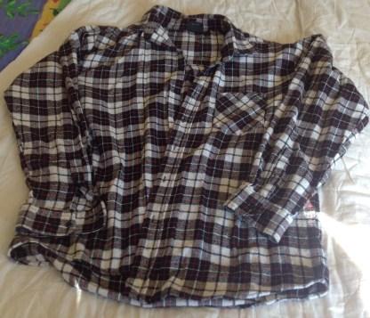 secondhand rivet men workwear shirt
