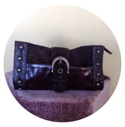 Pre-Loved Mogil leather shoulder bag Australian brand, design and made