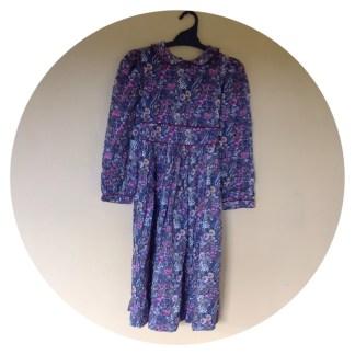 "Vintage ""my twin"" girls floral dress size 12"