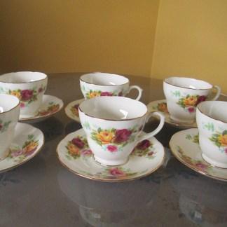 Duchess Bone China Tea Set Made In England
