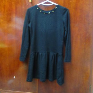 Girls AnD Black Dress size 12