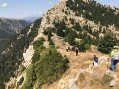 Ανάβαση στην κορυφή Τσεκούρα στην ορεινή Ναυπακτία