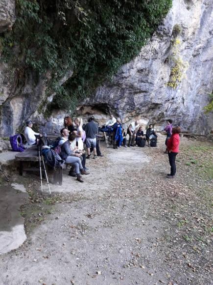 Μονή Σφυρίδας στο τμήμα Νυμφασία -Μαγούλιανα του Menalon Trail
