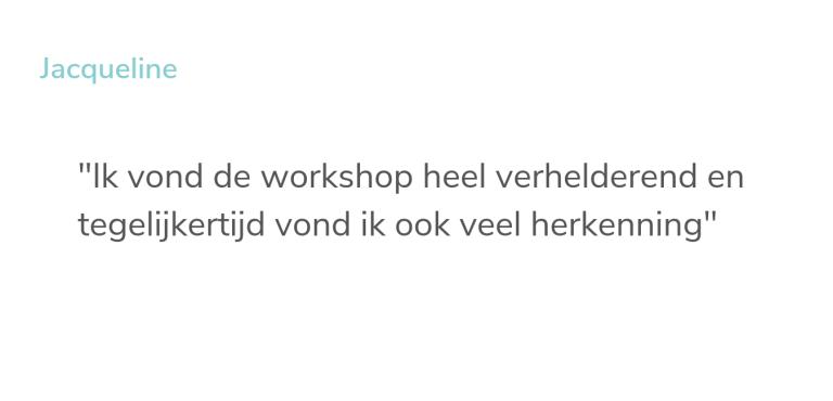 Referentie-workshop