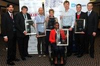 Left to Right: Nazeem Martin, Trevor Davids, Stuart Forrest, Madelé Ferreira, Tabisa Nomnganga, William Duk, Warren Graver, Jan Steenkamp