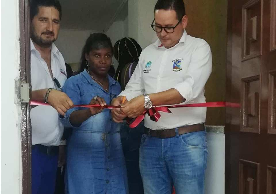 Inauguración Biblioteca Ambiental
