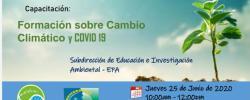Cambio Climático y COVID-19