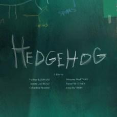 POSTER HEDGEHOG