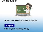 Online-CBSC-X-Class-Tution-Available