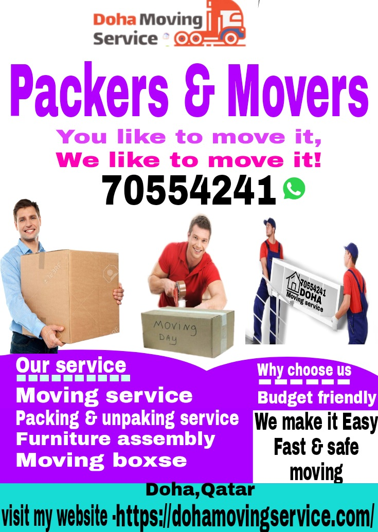 Qatar movers & packers service