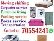 moving shifting service doha