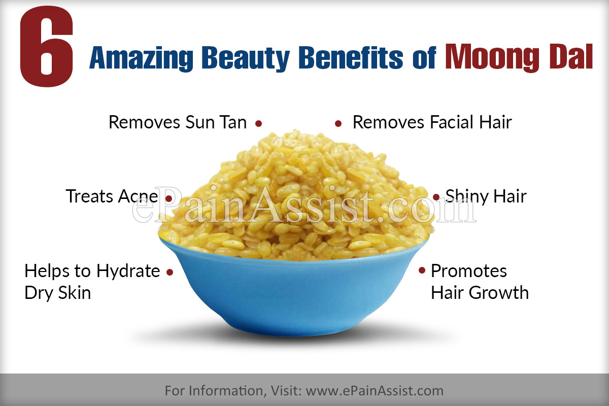 6 Amazing Beauty Benefits of Moong Dal or Moon Bean for Skin & Hair