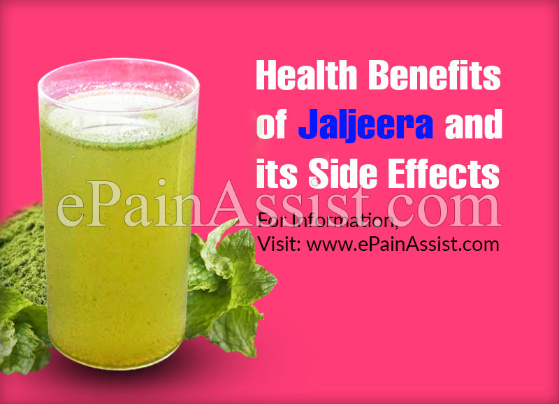 Health Benefits of Jaljeera and its Side Effects