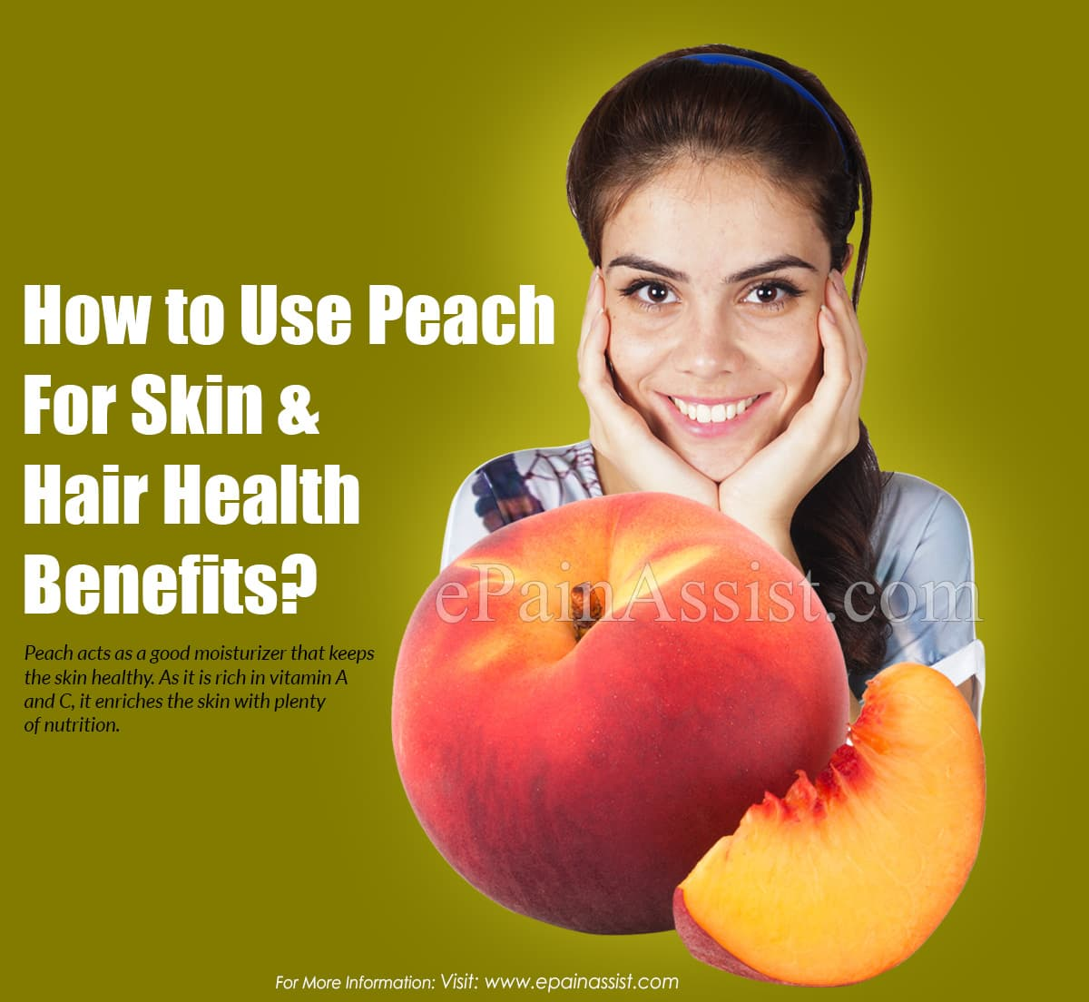 How To Use Peach For Skin and Hair Health Benefits?