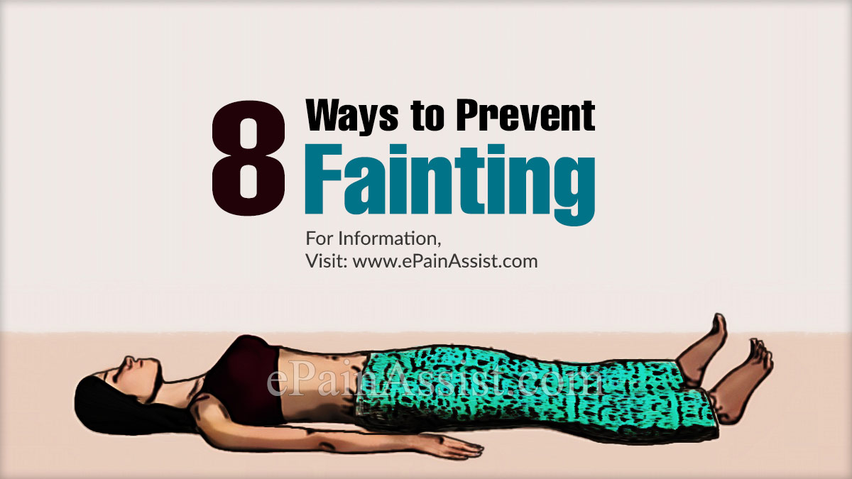 Ways to Prevent Fainting