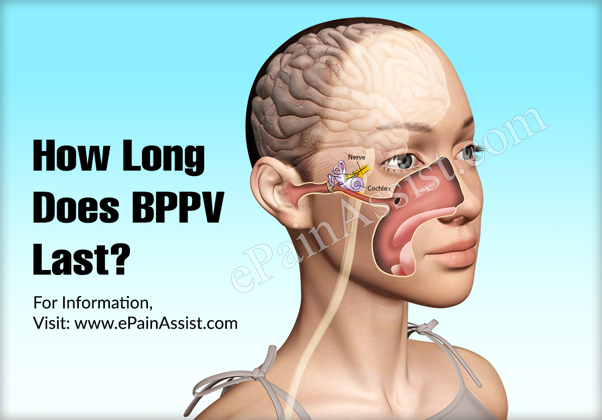 How Long Does BPPV Last  What are its Best Home Treatments