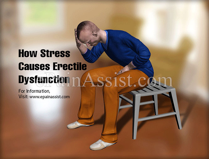 How Stress Causes Erectile Dysfunction?