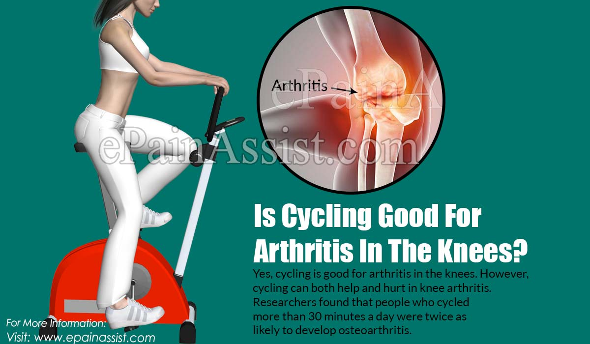 Is Cycling Good For Arthritis In The Knees?
