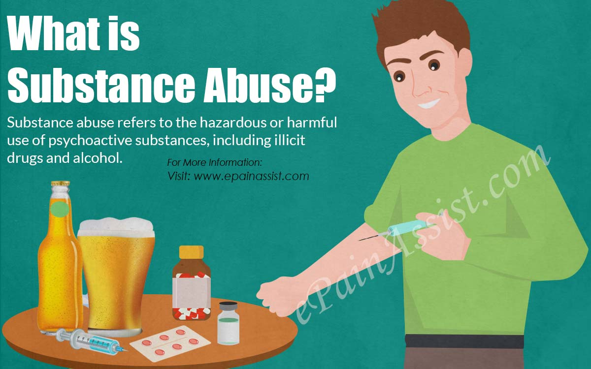 What Is Substance Abuse Commonly Used Drugs Causes