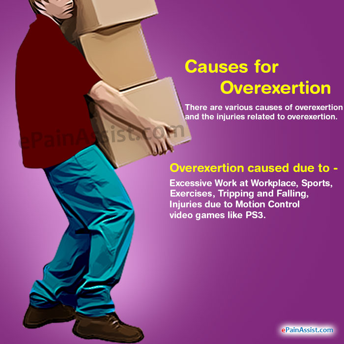 Causes for Overexertion
