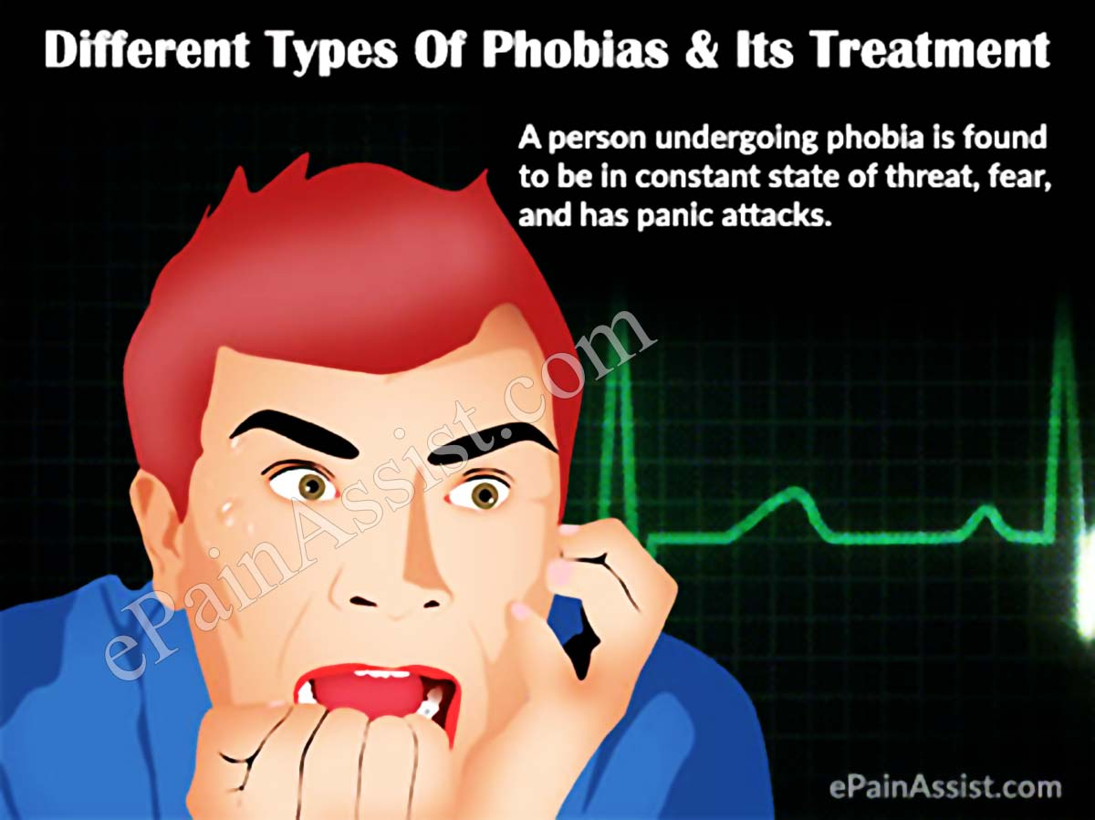 Different Types Of Phobias Amp Its Treatment